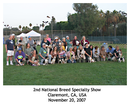 2007 Danish/Swedish National Breed Specialty Show, CA