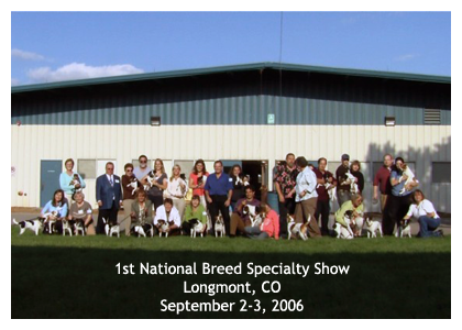 1st Danish/Swedish National Breed Specialty Show - 2006